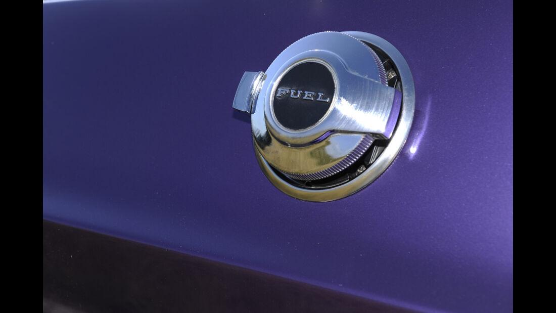Dodge Challenger R/T 383, Baujahr 1970, Tankdeckel