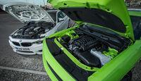Dodge Challenger R/T, BMW M4 Coupé, Motor