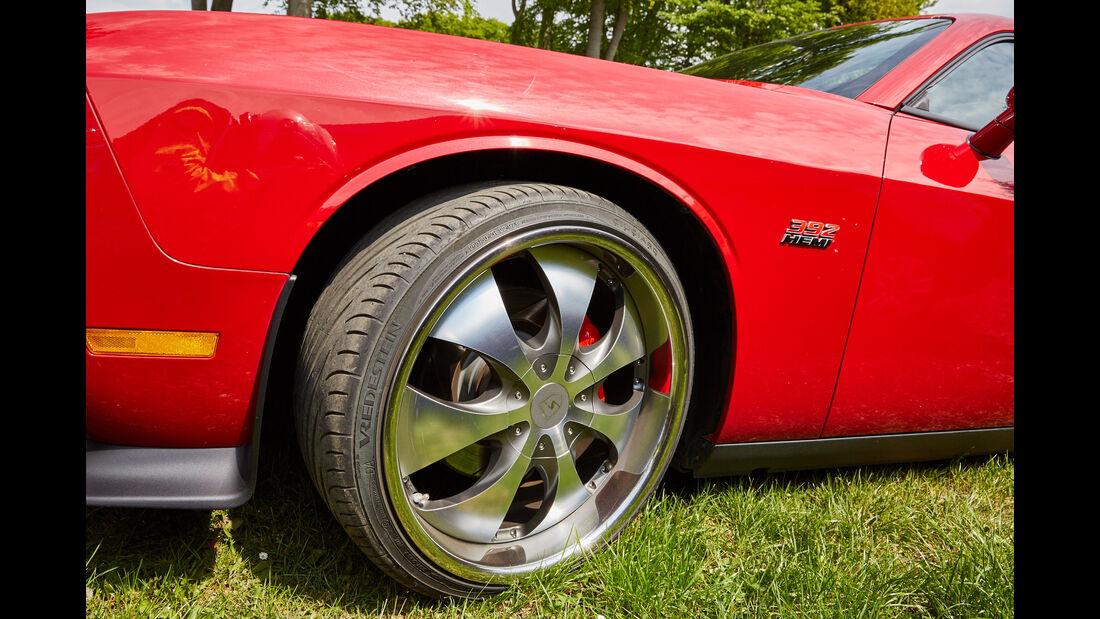 Dodge Challenger SRT - Fan-Autos - 24h-Rennen Nürburgring 2015 - 14.5.2015