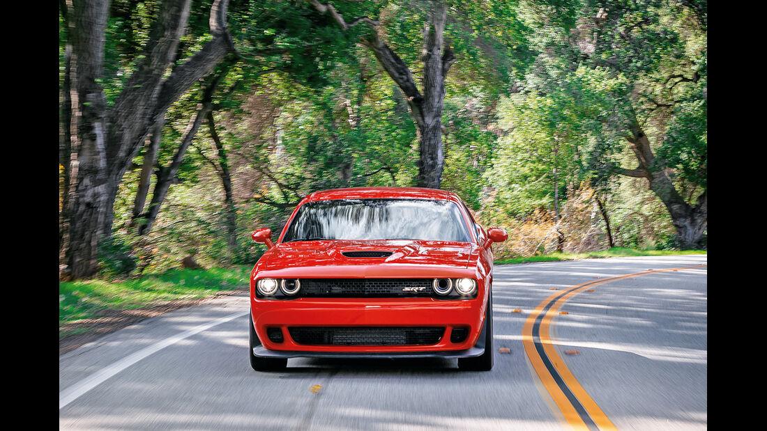 Dodge Challenger SRT Hellcat, Frontansicht