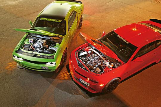 Dodge Challenger SRT Hellcat, Geiger-Camaro Z/28, Motoren