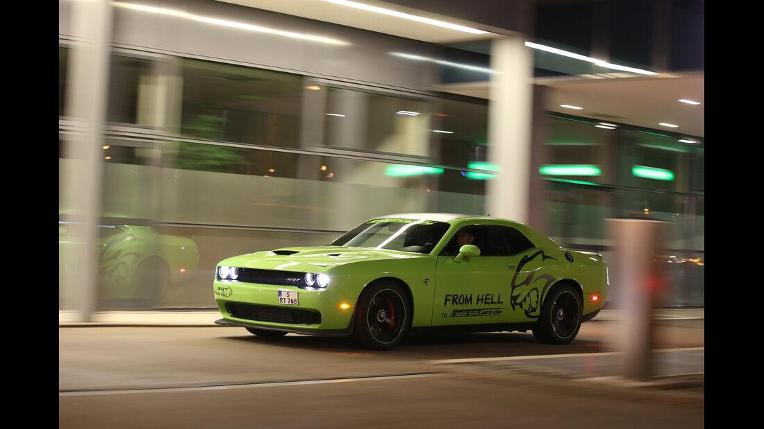 Dodge Challenger SRT Hellcat, Seitenansicht