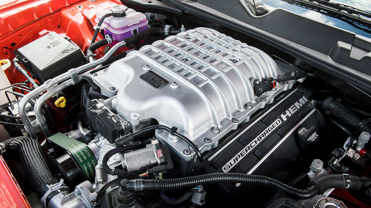 dodge challenger engines Dodge Durango, Charger und Challenger mit Hellcat-Motor  AUTO