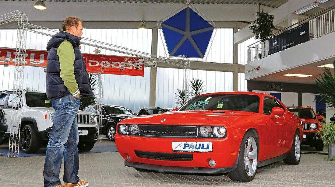 Dodge Challenger SRT8, Gebrauchtwagenhändler