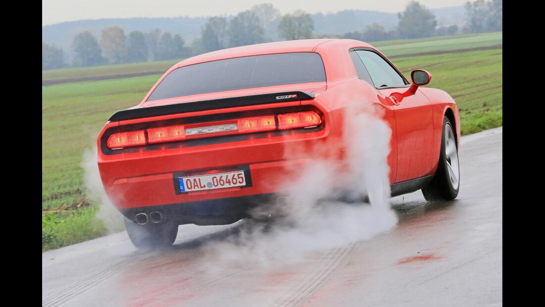 Dodge Challenger SRT8, Heckansicht