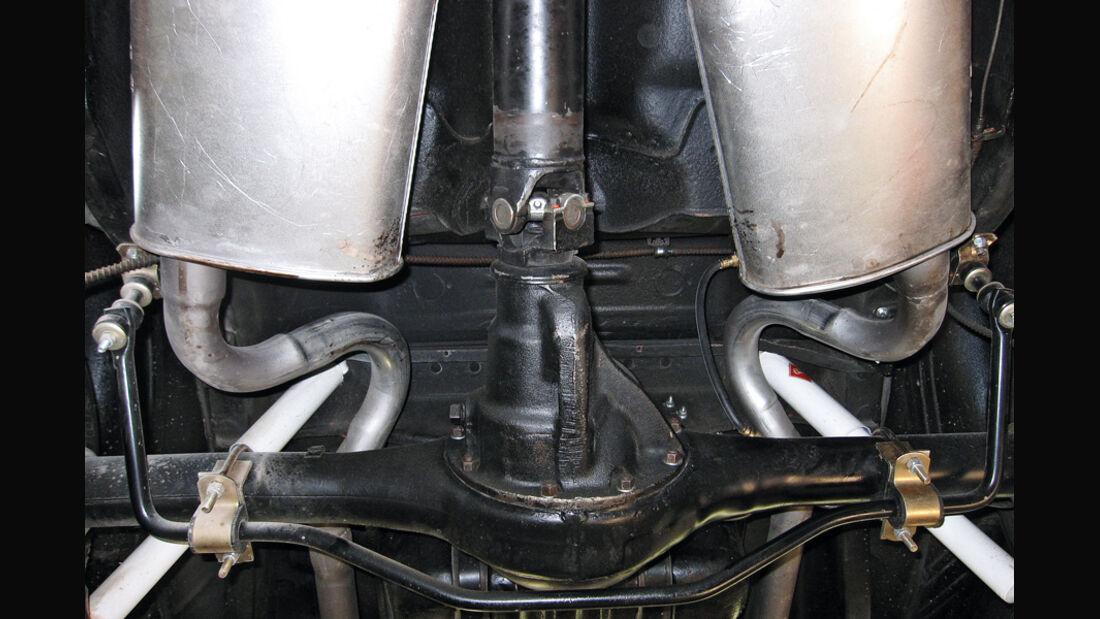 Dodge Challenger, Starrachse