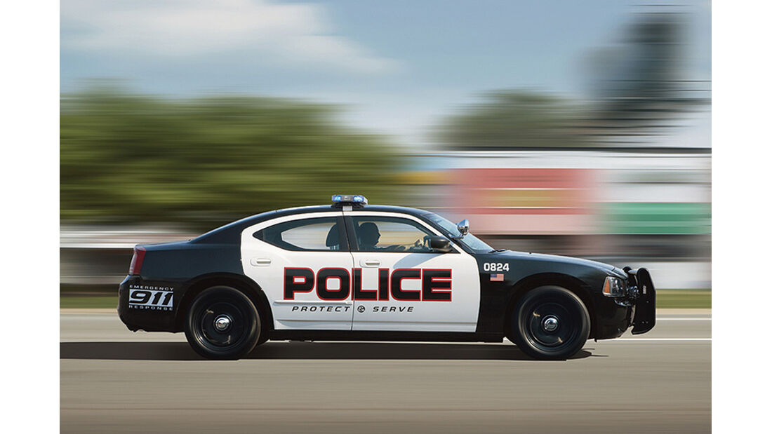 Dodge Charger Polizeiauto