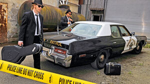 Dodge Monaco, Seitenansicht, Blues Brothers