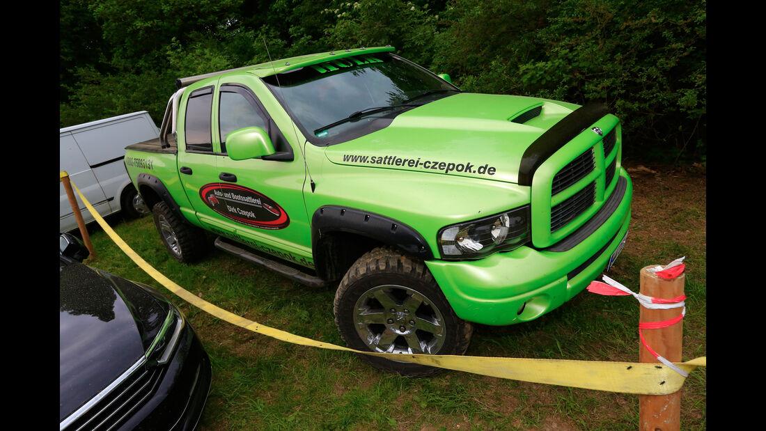 Dodge Ram - Fan-Autos - 24h-Rennen Nürburgring 2018 - Nordschleife