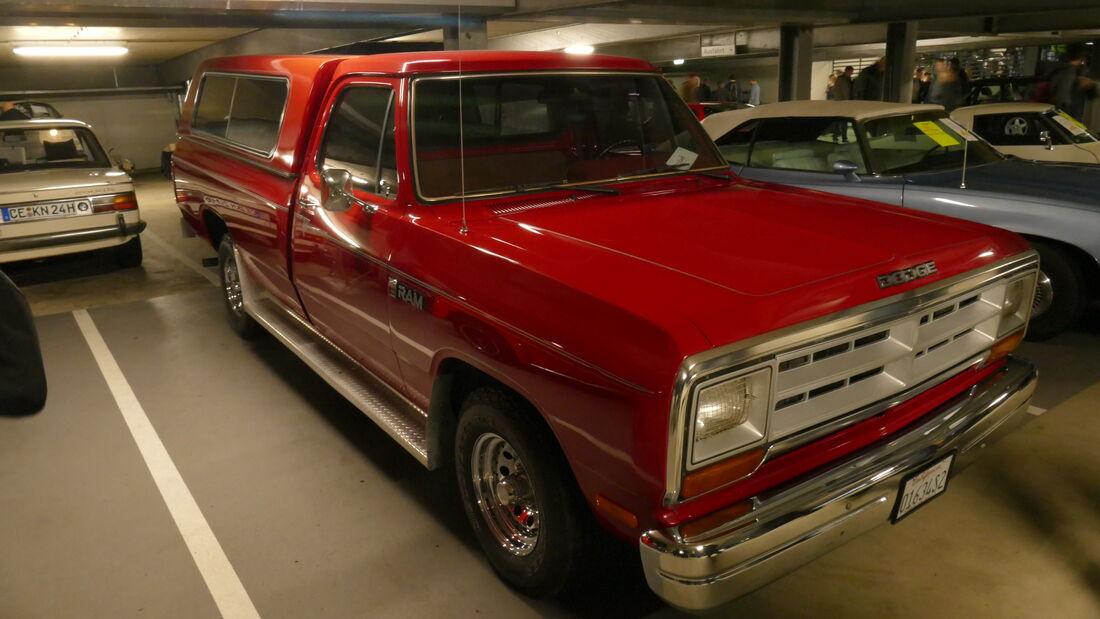Dodge Ram auf der Bremen Classic Motorshow 2020