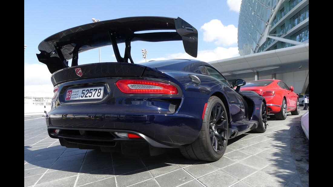 Dodge Viper ACR - Carspotting - Abu Dhabi 2017
