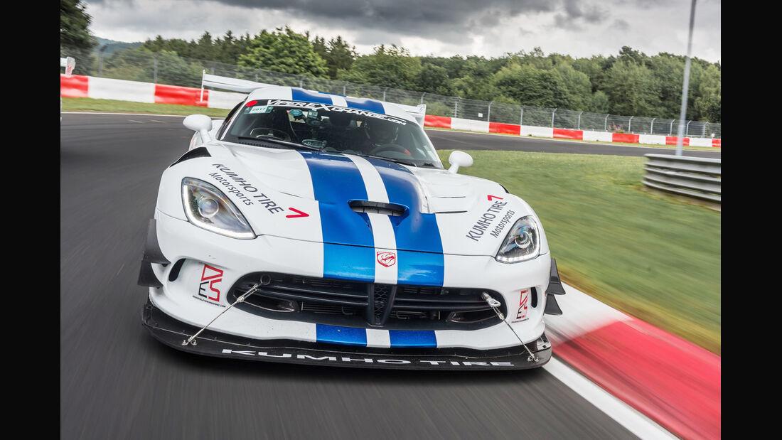 Dodge Viper ACR, Nürburgring-Rekordversuch, Crowdfunding, Nordschleife