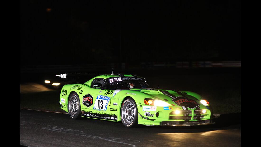 Dodge Viper CC - Startnummer #13 - 24h-Rennen Nürburgring 2017 - Nordschleife