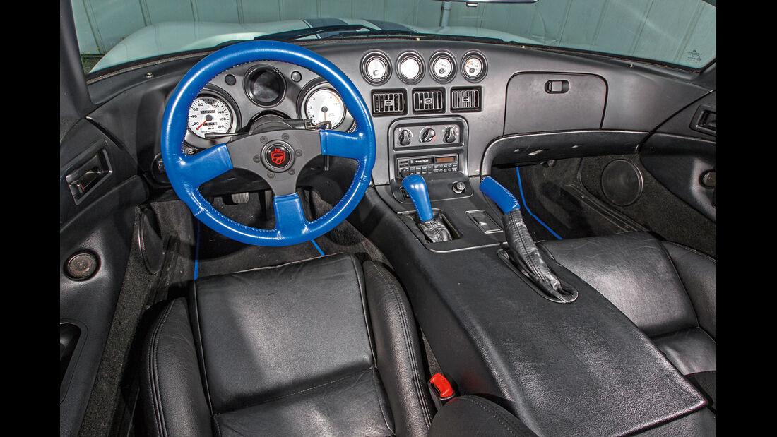Dodge Viper, Cockpit