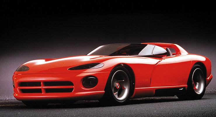 Dodge Viper RT/10 Concept Vehicle. 1989.