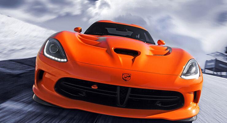 Dodge Viper SRT Track Attack