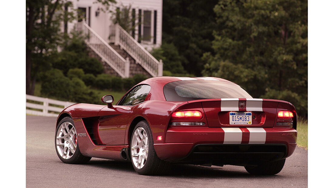 Dodge Viper SRT10 Coupé 2008