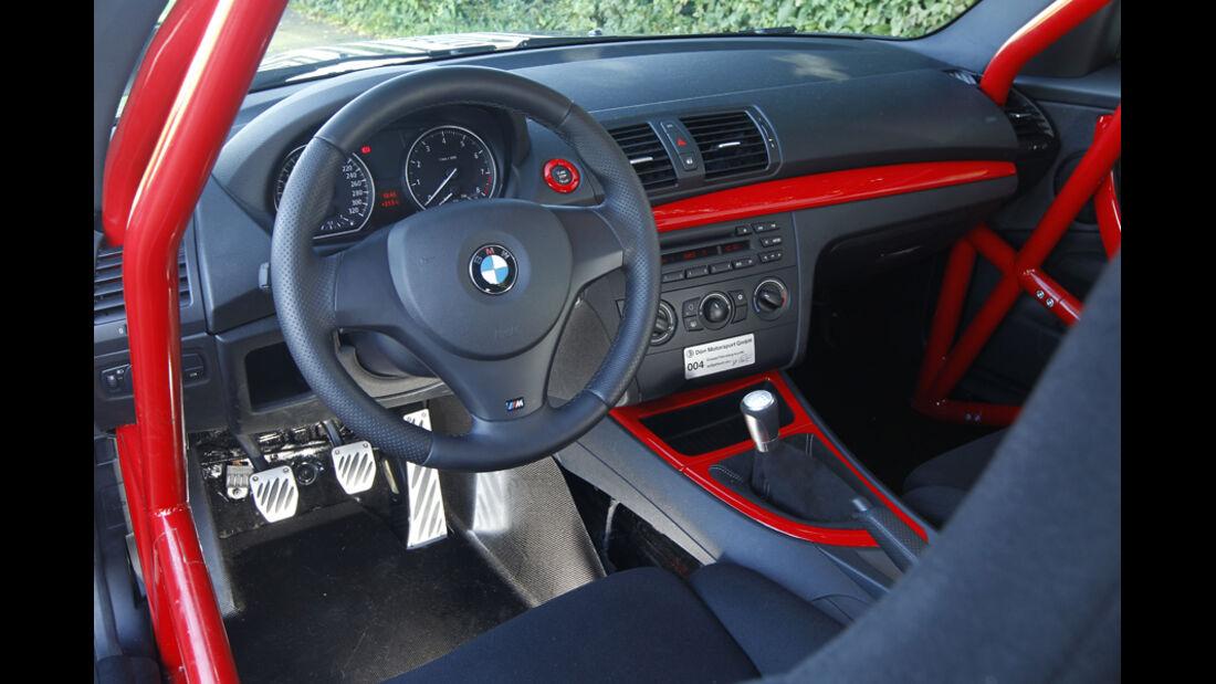 Dörr-BMW 135i powerd by P Zero, Cockpit
