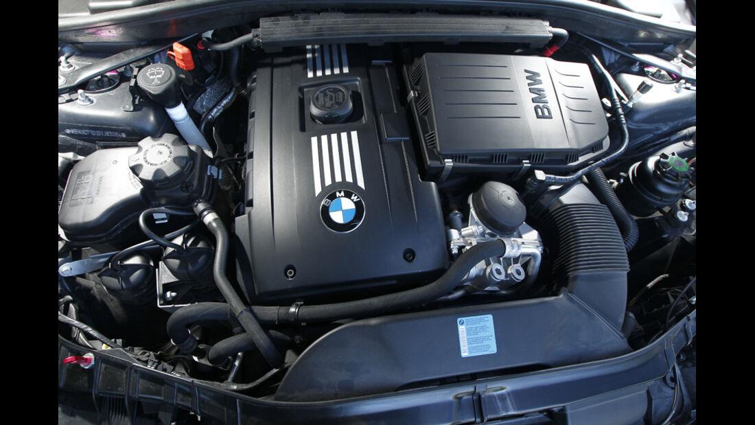 Dörr-BMW 135i powerd by P Zero, Mororraum