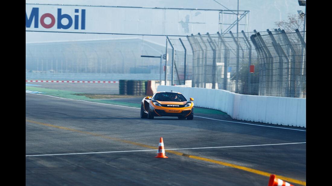 Dörr-McLaren MP4-12C Clubsport, Heckansicht