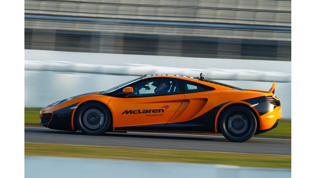 Dörr-McLaren MP4-12C Clubsport, Seitenansicht