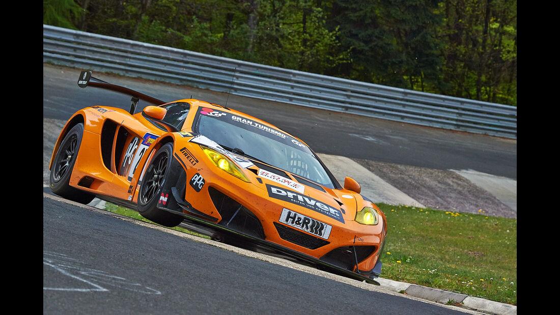 Dörr McLaren - VLN Nürburgring - 3. Lauf - 26. April 2014
