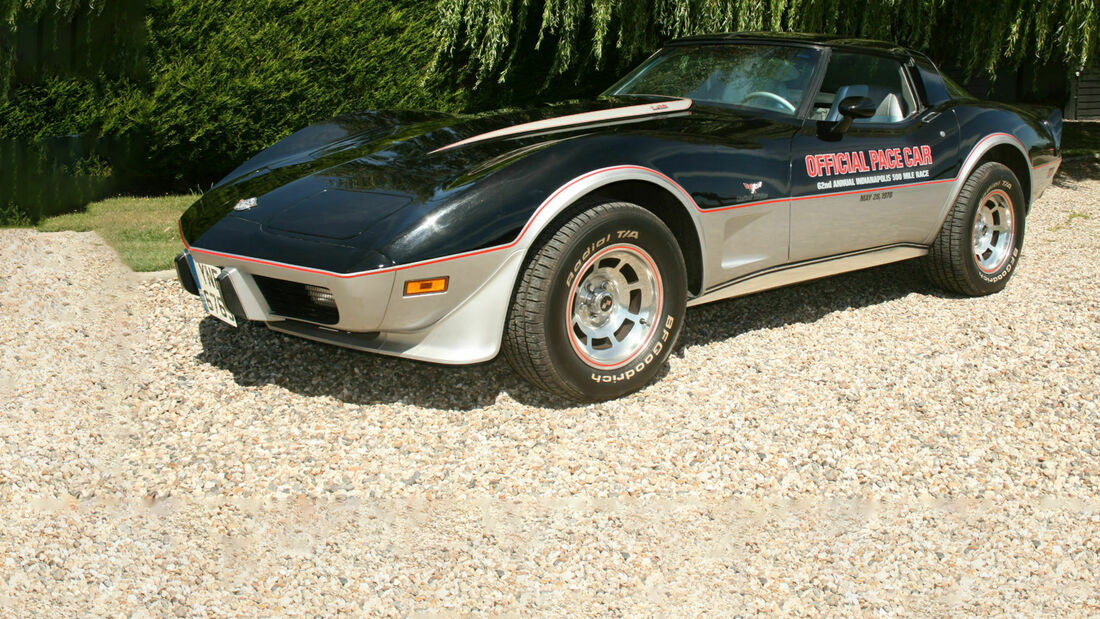 Dolph Lundgren's 1978 Corvette C3 Indianapolis Anniversary Pace car .