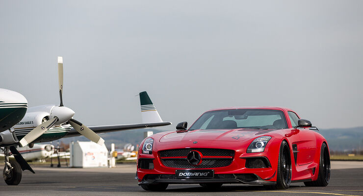 Domanig Mercedes-Benz SLS AMG Black Series, Tuning