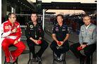 Domenicali, Boullier, Whitmarsh & Horner - GP Korea 2013