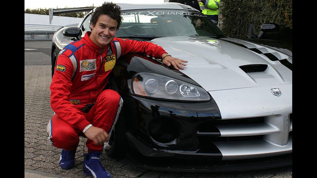 Dominik Farnbacher, Dodge Viper SRT10 ACR Rekordfahrt Nordschleife