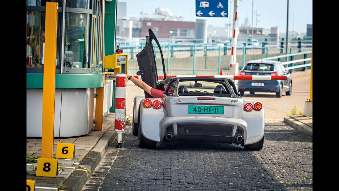 Donkervoort D8 GTO, Heckansicht