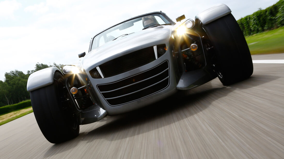 Donkervoort D8 GTO Performance, Frontansicht