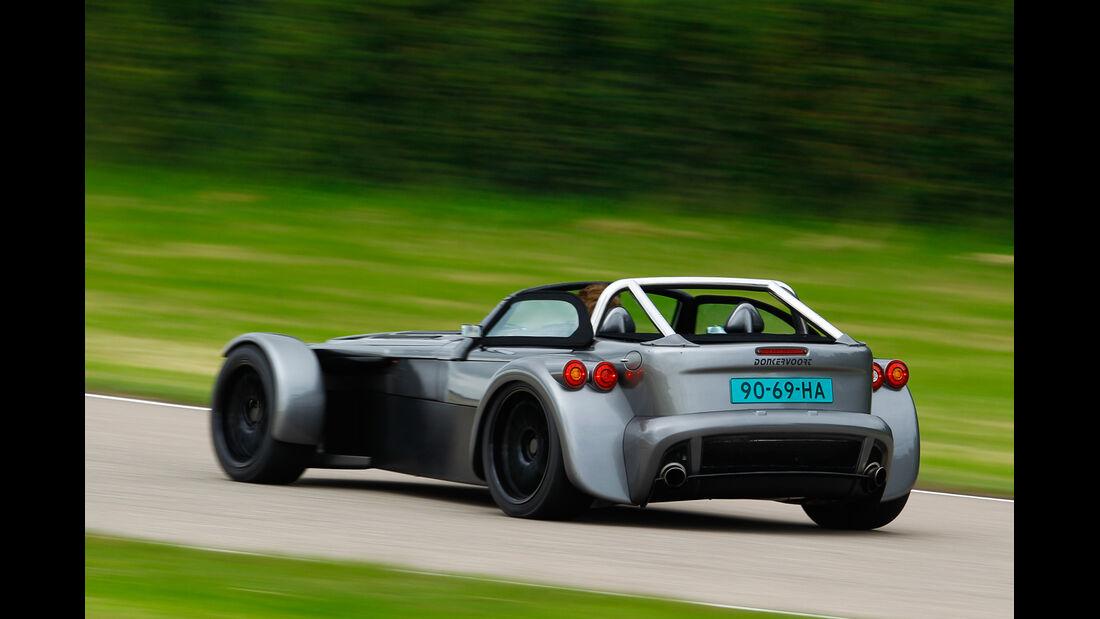 Donkervoort D8 GTO Performance, Heckansicht