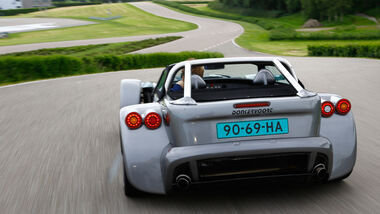 Donkervoort D8 GTO Performance, Heckansicht