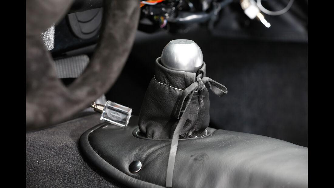 Donkervoort D8 GTO Performance, Schalthebel
