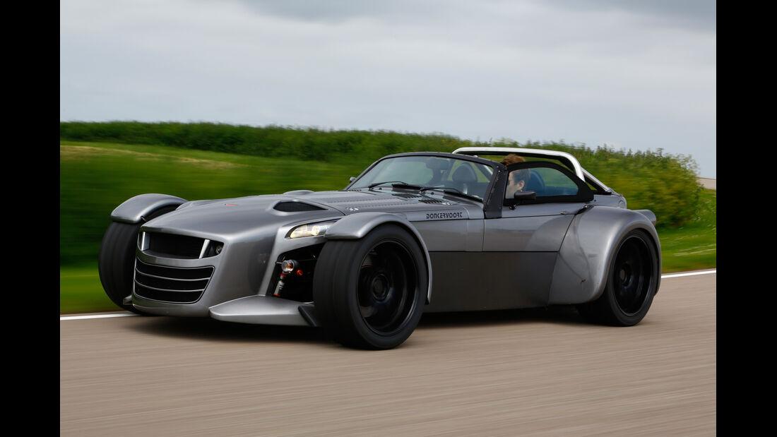 Donkervoort D8 GTO Performance, Seitenansicht