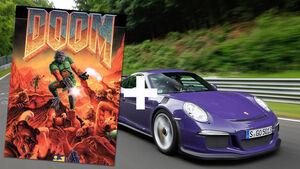 Doom, Videospiel, Porsche 911