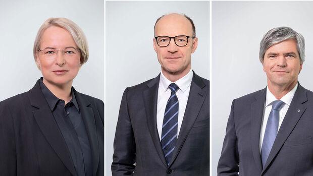 Dr. Sabine Maaßen, Dirk Große-Loheide, Dr. Arno Antlitz