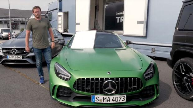 Drag Race AMG Screenshot Youtube Alexander Bloch