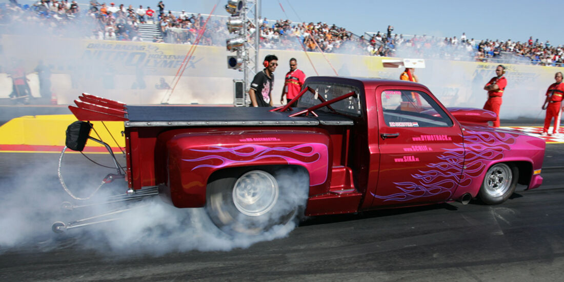 Dragster Burnout