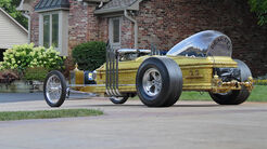 Dragula Munsters Coffin Dragster Sarg Auto