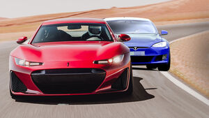 Drako GTW Tesla Model S Collage