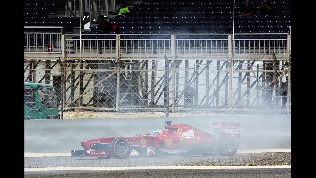 Dreher Fernando Alonso - Formel 1 - GP Bahrain - 20. April 2013