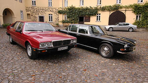 Drei Generationen Maserati Quattroporte