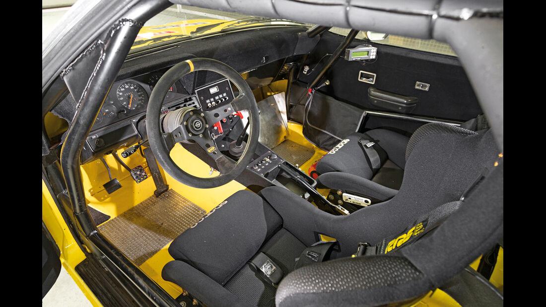 Drift-Autos, Irmscher, Opel Commodore B GS/E, Cockpit
