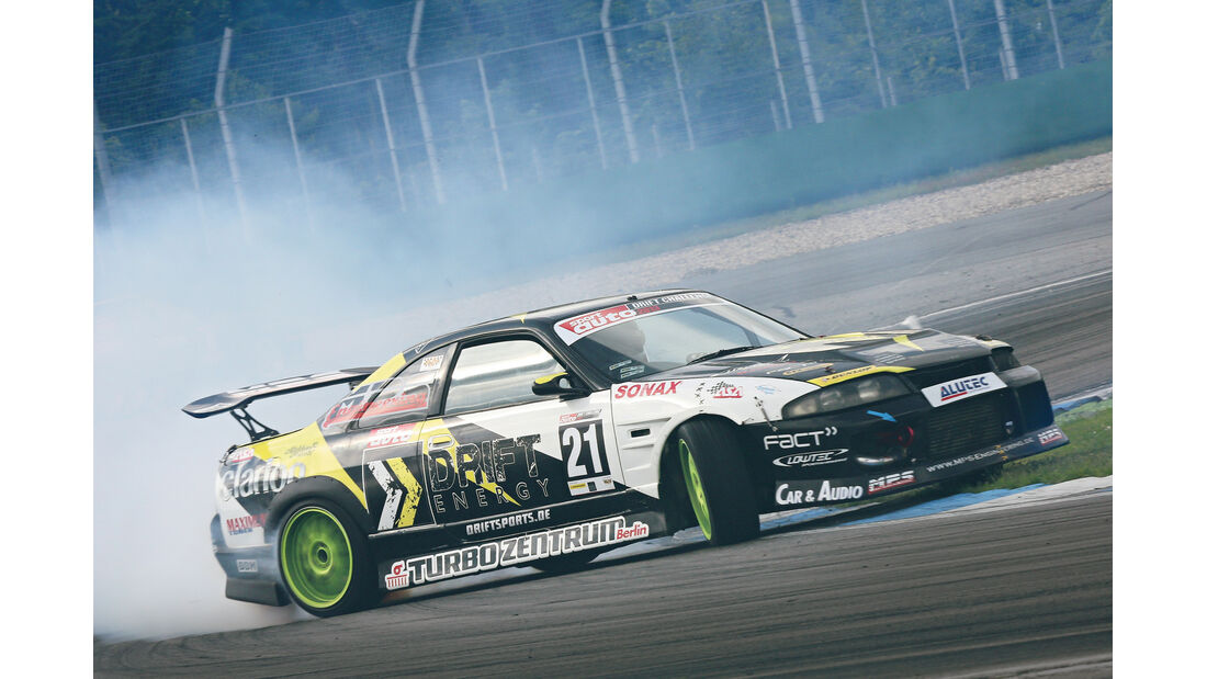 Drift Challenge 2013, René Portz, MPS-Nissan Skyline R33