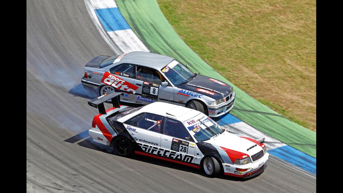 DriftChallenge, Audi V8, Uwe Sener, Florian Zimmermann