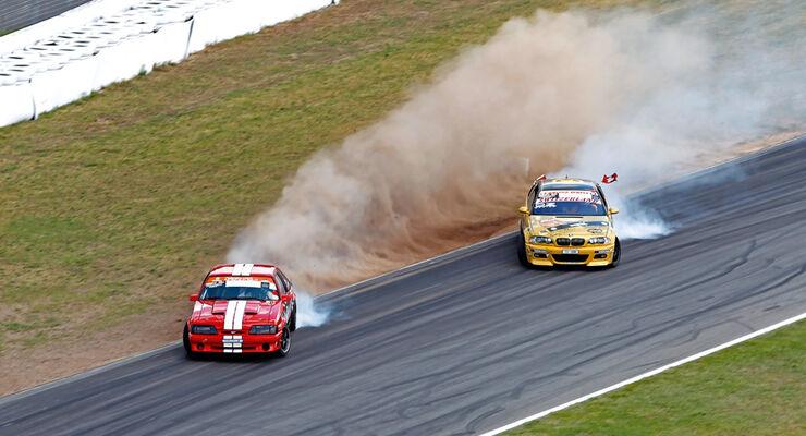 DriftChallenge, Ford Mustang, Yves Faber, Juri Bianchi