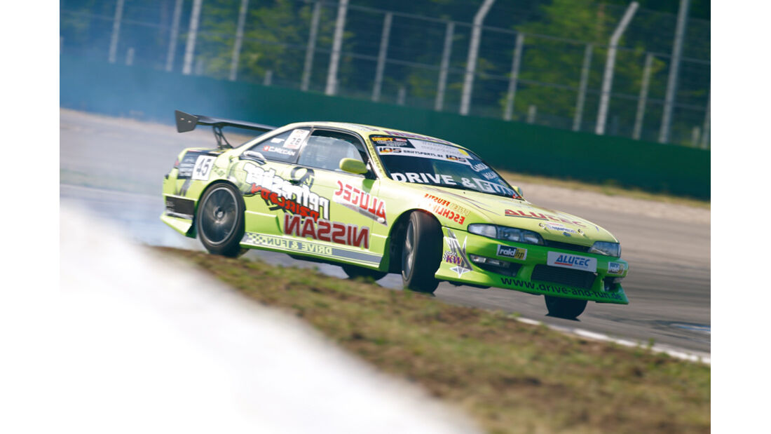 DriftChallenge, Nissan 200 SX S14, Carola Mecan