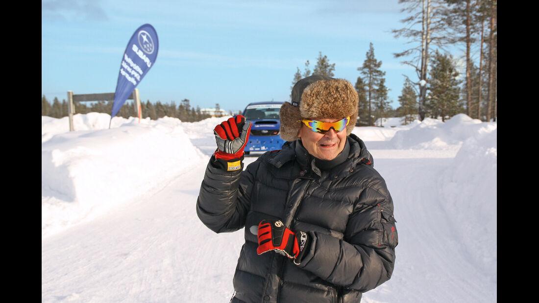 Driftschule, Subaru Impreza, Markku Alén